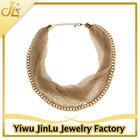 Fashion net design gold necklace models
