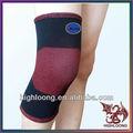 respirável macio tricô tecido para o voleibol do infravermelho distante de algodão de bambu carvãovegetal ortopédica do joelho cotovelo almofadas