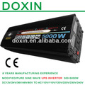 Dc de extremo a extremo ac inversor de la energía 5000 w ups en línea 110 v 220 v inversor power star cargador