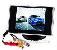 2014 DLS Waterproof 3.5'' tft lcd monitor car monitors headrest