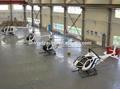 la estructura de acero helicóptero personal del hangar con aislamiento térmico y sísmica fuerte y resistente a la resistencia del viento