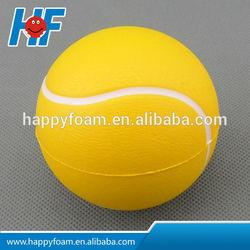 PU promotional sports tennis stress balls