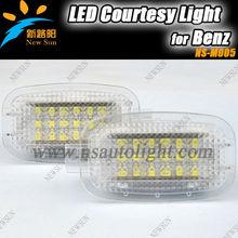 AUTO LED Courtesy LIGHT for BENZ W204 4D/5D,W212 4D/5D,W221 4D,W245 5D,Smart Fortwo 2D,C197 2D,X164 5D,CAR LED Courtesy Lamp