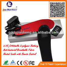 Shoes for old people battery heat insole