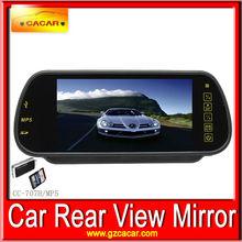 sistema di sicurezza 7 pollici vista posteriore specchio per auto monitor con fm mp5