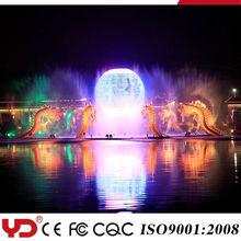IP68 CE UL waterproof led waterfall light