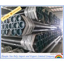 asme b36.10m astm a106 gr.b schedule 80 en 10204 3 1 seamless steel pipe