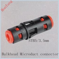 Straight Bulkhead Microduct Connector