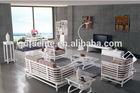 Solid wood modern design living room furniture set