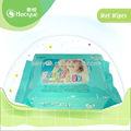 tejido del bebé mojado