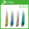 Plastic handle gerber cutter blade knife