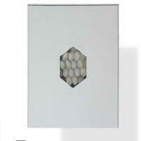 aluminum diamond decorative honeycomb wall panel