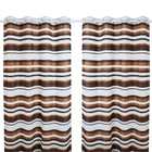 100% polyester customized indian window curtain