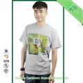 最新のメンズtシャツの豪華さ2014年tシャツメーカーパキスタン