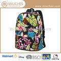 2014 menina adolescente mochilas escolares