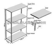 pallet stacking warehouse light duty shelf steel rack