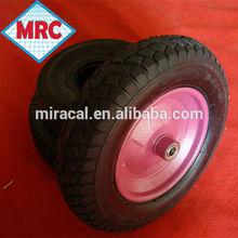 hot sale rubber wheel 3.50-8 swivel wheel trailer