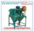 Mejor precio laboratorio Jig separador, pequeño diamante minería jig, Detector de diamante para caliente venta