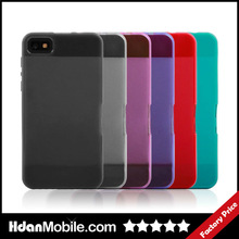 Hot TPU Cell Shell For Black Berry Z10 Mobile Phone Fancy Case