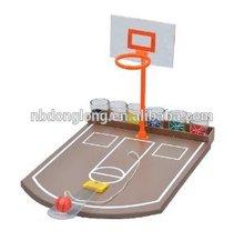 Crystal Clear Shot Glass Basketball Bar Game Set