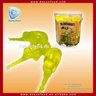 Animal Shape fruit suck Jelly in jar