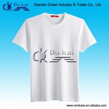 Men's wholesale blank t shirts, white plain dry fit t-shirt