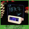 2014 led digital memo board clock with nite writer pen