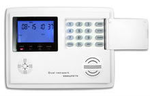 gsm network voice video monitoring standalone alarm system with sms remote control
