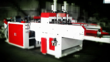 Dual-Line Bag Making Machine with High Speed, QDR-450X2 Model