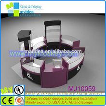 Circle shape e cigarette display stand/acrylic e cigarette display stand with low price