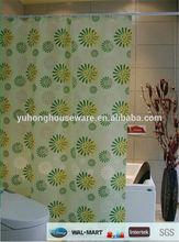 2014 Popular folding PVC shower curtain