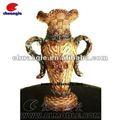 Bouteille vase de résine, vase à fleur polyresin, personnalisé décoration vase