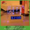 2014 digital memo board alarm clock with writer pen