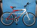 26 rojo de la bicicleta de montaña sh-mtb016