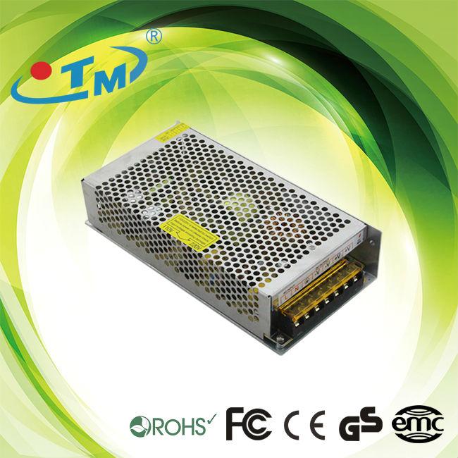 dc transformer 12 volt 10 amp constant voltage led power supplies With CE FCC RoHS