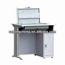 Home and school Furniture Stainless Steel Computer Desk