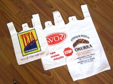 good quality Shopping roll plastic clear grocery bags