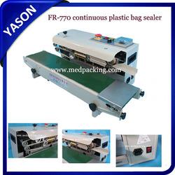 Bag heat sealing machine/Plastic bag band sealing machine/continuous plastic bag sealer