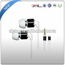 High quality good bass 3.5mm jack earphone headset