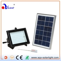 Waterproof Solar LED Outdoor Flood Light With Remote Control Function,Timer Function