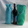 wine carrying bag wine gift bags pvc plastic wine bags