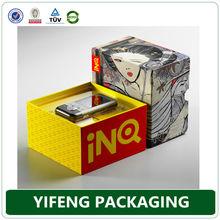 Custom luxury electronic components cardboard storage box