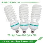 modern T5 half spiral 85w E26 fluorescent light fitting