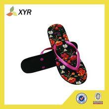 2014 New design beach wedding flip flops custom rubber flip flops