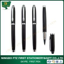 Logo Type and Metal Material promotional gel ink pens