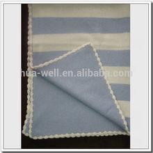 Hot sale soft cashmere baby blanket