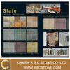 Various color slate, slate stone, sandstone