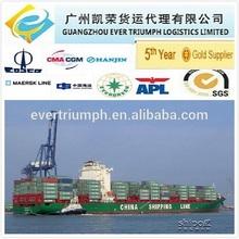 China shipping service to Canada from Guangzhou Shenzhen Xiamen Ningbo Shanghai Qingdao