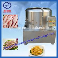 2014 advanced design chicken feet skin peeling machine