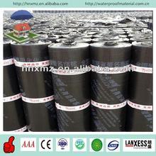 3mm 4mm torch applied fiberglass reinforced waterproofing black roofing paper